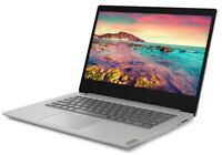 "NEW Lenovo 14"" HD Intel DualCore 2.3GHz 128GB SSD 4GB RAM Webcam Win 10 - Silver"
