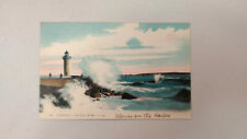 Cannes Lighthouse - France - Lithograph Postcard - Unused - GC