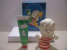 Peanuts, Avon, Linus Bubble Bath & Holder