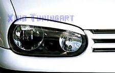 PALPEBRE FARI ANTERIORI VW GOLF 4 IV tutti i modelli TUNING SPORT racing