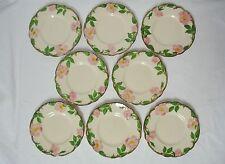 "8 Franciscan Desert Rose 6"" Bread Plates USA Made Dinnerware Side Plate Lot"