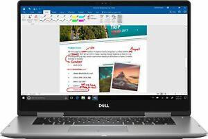 "Dell Inspiron 2-in-1 15.6"" Touch-Screen Laptop Intel Core i7 12GB Mem 2TB Hard D"