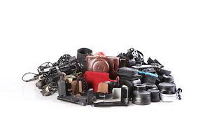 Lot of 35mm Digital Camera Accessories Untested AI