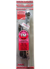 Audioline N. 476 Antenna Auto - 4 sezione Hi Gain FM/MW/LW Piccoli Top 30 mm Antenna