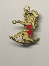 Sexy Betty Boop Anchors Away Sailors Wanted 3d Lapel Jacket Hat Pin Broach Jewel