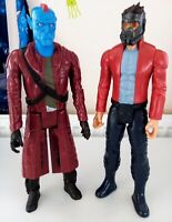 YONDU & STAR-LORD MARVEL TITAN HERO 12 INCH ACTION FIGURES Guardians Of Galaxy