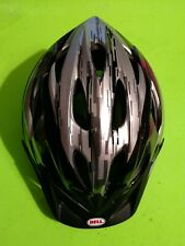 Bell Rival Kids Bike Helmet M326C Blk/Gry 52 - 56cm 230g w/Reflectors(PreOwned)