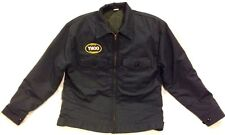 Vintage RARE Yahoo! YHOO Promotional Work Jacket GCA Size L Silicon Valley