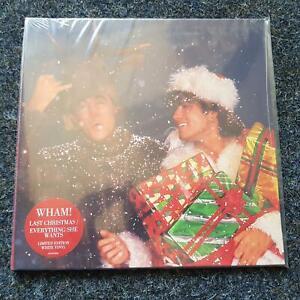 Wham/ George Michael - Last Christmas 7'' Single WHITE VINYL STILL SEALED!