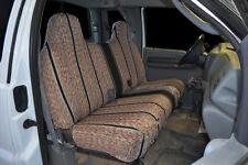 1995 2007 Ford F 150 F 250 F 350 Bench Black Custom Saddleblanket Seat Covers