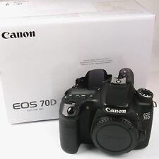 Canon EOS 70 D 20.02 MP DSLR nur Gehäuse (FN014242)