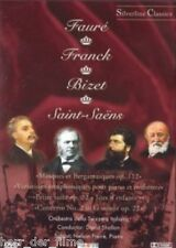 Werke von FAURÈ + FRANCK + BIZET + SAINT-SAENS (NEU)