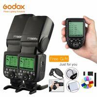 Godox 2*TT685S 2.4G HSS TTL Camera Flash Speedlite + Xpro-S Transmitter for Sony