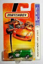 Matchbox '65 Austin Mini Van #031 MBX Metal 2007 Dark Green VHTF!!!