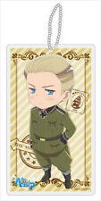 Hetalia Axis Powers Germany Beautiful World Clear Strap Key Chain NEW