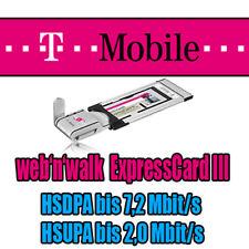 Umts Modem Web 'N' Walk Expresscard III Hsdpa Hsupa No Simlock No Netlock