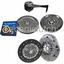 NATIONWIDE 2 PART CLUTCH KIT AND SACHS DMF WITH CSC FOR VW PASSAT SALOON 2.0 TDI