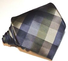 Mens MULTI-COLOR NOVA PLAID&CHECKS 100% Silk Tie,neck tie,hand made,Croft&Bar