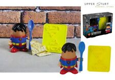 DC Comics Superman Egg Cup and Toast Cutter
