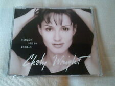 CHELY WRIGHT - SINGLE WHITE FEMALE - 1999 UK CD SINGLE