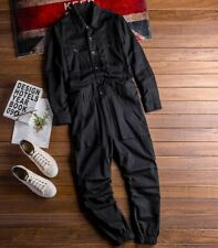 New Mens Overall Jumpsuit Pants One-piece Casual Retro Trousers Pants Large Size