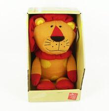 Russ Berrie Peluche Leone cod 39534 con tronetto Plush Lion león Löwe leão