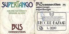 DISCO 45 GIRI    BUS CONNECTION - SUPERTANGO // SUPERBOOGIE