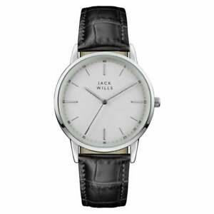 Jack Wills Fortescue Leather Men's Watch - JW011WHSS
