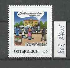 """Österreich PM personalisierte Marke Eisenbahn """"170 Jahre WIEN - STOCKERAU""""  **"""