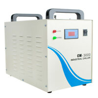 US 10L/Min-Flow-Alarm-US-CW-3000 Industrial Safty Water Chiller F/Laser Engraver