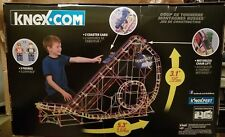 100% Complete K'Nex Thunderbolt Strike Roller Coaster perfect for Lego minifigs