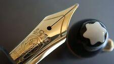 "stylo plume MONTBLANC 146 LeGrand plume""M""or 18K jaune.W.GERMANY"