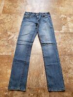 Aeropostale Bayla Skinny Women's Juniors Blue Denim Jeans Size 3/4 regular