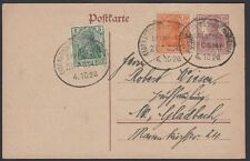 GERMANY, 1920. Post Card P116,85I,141, Eibenstock