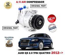 para Audi Q5 2.0 TFSI + QUATTRO 2012> NUEVO CA AIRE ESTADO Compresor unidad