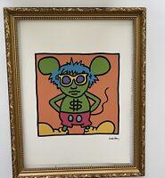 Keith Haring- Lithographie Signée Et Numérotée