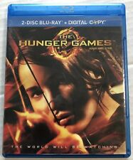 The Hunger Games (Bluray, 2012, 2 Discs) Canadian