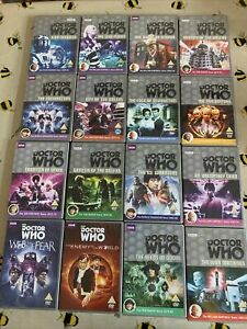 DOCTOR WHO DVD BUNDLE JOB LOT - 16 x DOCTOR WHO DVDS - BBC DOCTOR WHO COLLECTION