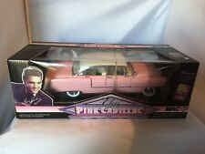 DIECAST ''1955 ELVIS PINK CADILLAC ''- MRC COLLECTABLES MODELS CAR