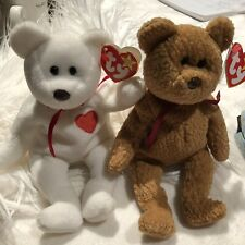 TY Beanie Babies Valentino And Curly