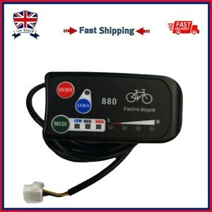 UK Electric Bicycle Bike LED 880 Display Ebike Control Panel For KT Controller