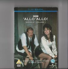 ALLO ALLO DVD SERIES 5 VOLUME 1 RETRO 80S 13 EPISODES