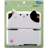 Nintendo 2DS LL CYBER Main body protection cover Neko-chan for New From Japan