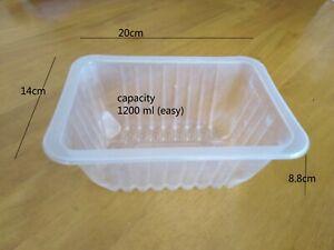 pp tray , food grade, 6 pieces, sample