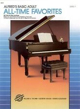 Alfred's Basic Adult All Time Favorites 1; Book Only; Piano. - 9780739009093
