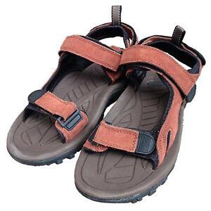 Genuine British Army Issue Mens Sports Brown Sandals Suede Warm Weather