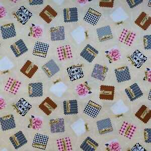 Sewing Studio vintage fabric by Robert Kaufman - CLEARANCE!