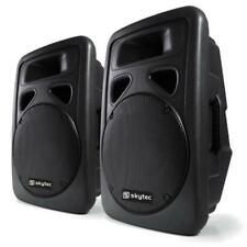 "PAREJA ALTAVOCES SKYTEC DJ PA SUBWOOFER 30CM (12"") 1200W BASS DRIVER MICRO DISCO"