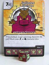Dice Masters - #045 splinter radical Conseil-teenage mutant ninja turtles