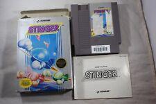 Stinger HANGTAB (Nintendo NES) Complete in Box FAIR